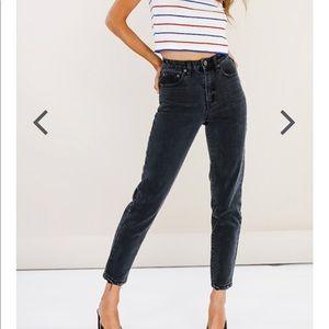 Denim - High waist Mom jeans